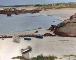 Our beach at Trevignon, Brittany