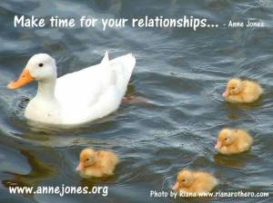 Make time for your relationships