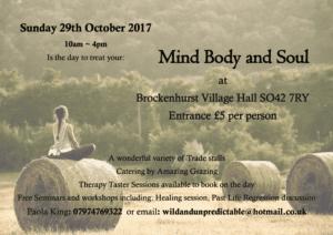 Mind, Body and Soul @ Brockenhurst | England | United Kingdom